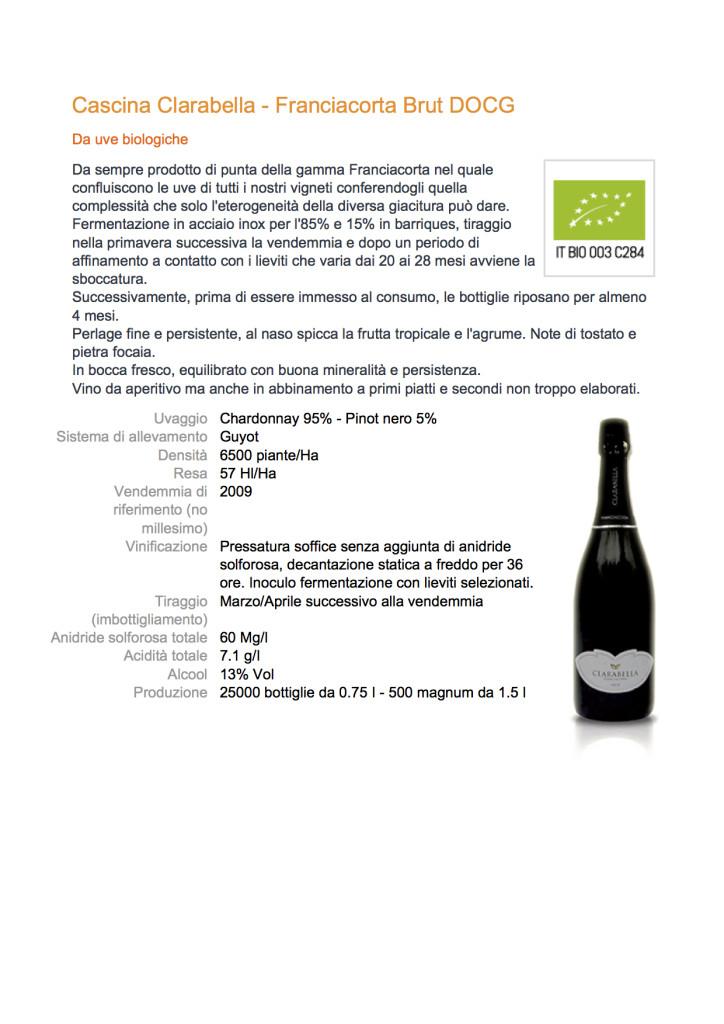 Cascina Clarabella - Franciacorta Brut