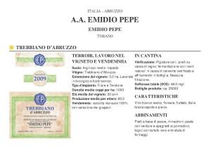 Emidio Pepe - Trebbiano d' Abruzzo